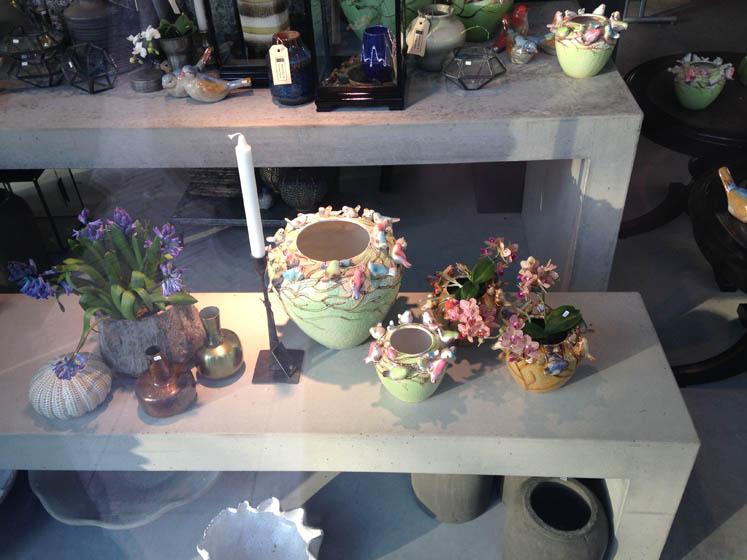 een paar bloemen in een vaas